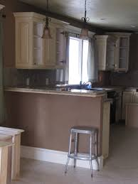 Kitchen Cabinets Without Hardware Kitchen Dark Solid Wood Mobile Home Kitchen Cabinets With
