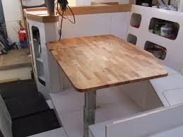 transformer une table de cuisine une table pour notre carré la galère de et cécile