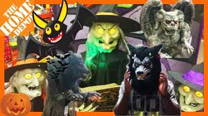 home depot halloween 2017 animatronics scary spooky costume