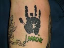 grateful dead tattoos gd tattoo 30 j garcia palm
