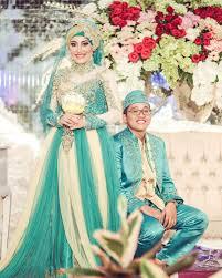 tutorial hijab syar i untuk pengantin 18 gaun pernikahan muslimah syar i model terbaru
