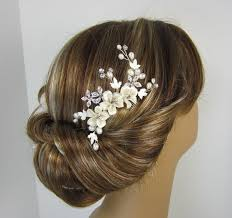 bridal hair comb flower hair comb hair comb bridal hair comb wedding hair