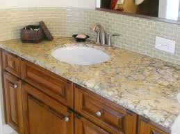 Granite Bathroom Vanity by Bathroom Backsplash Ideas Granite Countertops Bathroom Backsplash
