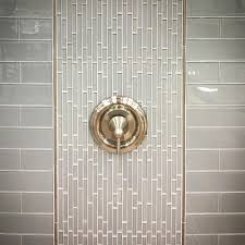 beautiful mix of gray and gold glass wall tile glass mosaic