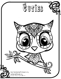 halloween owl coloring pages u2013 festival collections