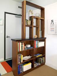 furniture home bookshelf room divider book storage hack design
