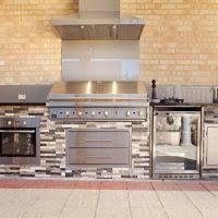 Outdoor Kitchen Cabinets Polymer Outdoor Kitchen Decoration Using Black Dark Grey Granite Outdoor