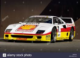 1993 ferrari 1993 ferrari f40 competizione monteshell racing car stock photo