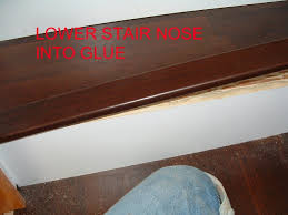 installing stair nose for diy stair installation tampa bay fl