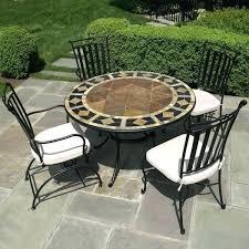 ceramic tile top patio table outdoor ceramic table amazing tile top outdoor dining table