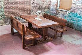 dining room magnificent rustic wood dinner table rustic wood