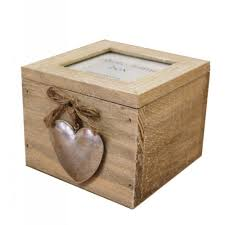 heaven sends detail wooden photo frame trinket box heaven