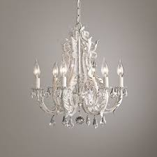 Rh Chandelier Replica Item America Style Palais Small Chandelier Rustic White