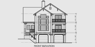 House Plans With Elevations And Floor Plans Luxury House Plans Portland House Plans 10064