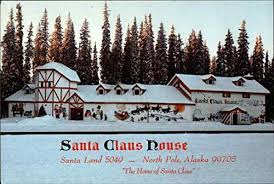 santa claus house north pole ak santa claus house north pole alaska original vintage postcard at