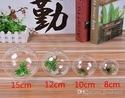 glass globe terrariums glass vases flowers dia 15cm hanging