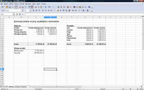 Open Office Spreadsheet Openoffice Org W Praktyce Arkusz Kalkulacyjny Dobreprogramy