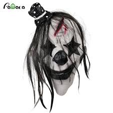 halloween mask clown online buy wholesale creepy mask clown from china creepy mask