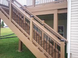 fresh composite railing ideas 14886