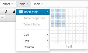 html table mobile friendly table generator