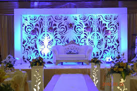 wedding backdrop on stage stage backdrop designs frozen apple events pvt ltd india s