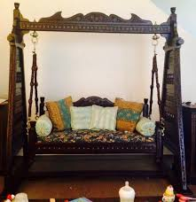 for sale thurgi area beautiful hand carved wooden swing sofa
