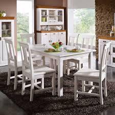 esszimmer landhausstil weiãÿ funvit küchen weiss mit holzarbeitsplatte
