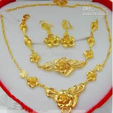 lady gold necklace images 24k gold necklace wholesale hot beautiful lady gold necklace 24k jpg