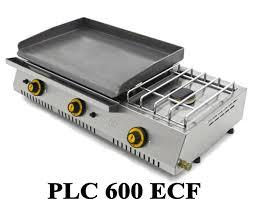 cuisine à la plancha gaz plancha gaz avec réchaud fainca plc 600 réf aménagement