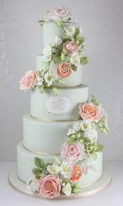 best 25 mint wedding cake ideas on pinterest striped wedding