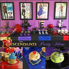 how to plan a disney descendants watch party michelle u0027s party
