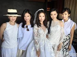 wedding dress di bali 台湾演员林心如与霍建华在峇里岛宝格丽度假村的婚礼 asia wedding