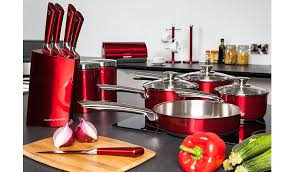 Morphy Richards Accent Toaster Red Morphy Richards Accents Pan Set 4 Piece Home U0026 Garden George