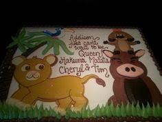 baby shower cake lion king baby shower cakes by creative