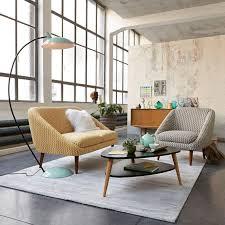 canapé style ée 50 style déco vintage couleurs meubles accessoires et