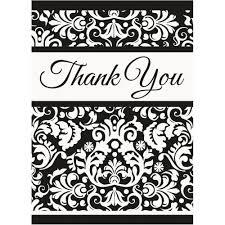 thank you card creative unique damask thank you cards thank you
