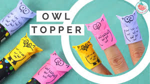 origami owl tutorial paper finger puppet u0026 pencil marker topper