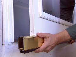 Exterior Door Sweeps by How To Install A Wood Core Aluminum Storm Door How Tos Diy