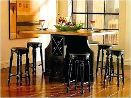 kitchen island counter storage dining table counter height table with storage