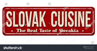 cuisine metal slovak cuisine vintage metal sign เวกเตอร สต อก 1041645085