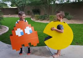 Pacman Halloween Costume Minute Pac Man Monster Halloween Costumes Salvage Youth