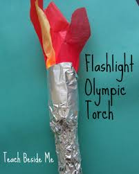 greek olympics lesson ideas for kids flashlight torches and