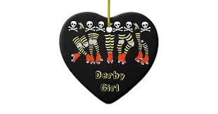 roller derby ornament zazzle