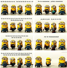 Despicable Me Minion Meme - banana song now you know all the words made me laugh