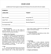 rental agreement templates u2013 14 free word pdf documents download