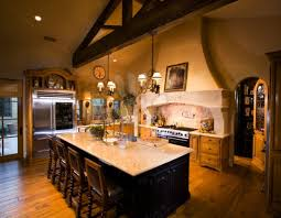 tuscan kitchen decor for the vintage kitchen of an old house with