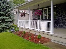 vinyl front porch railing ideas perfect front porch railing