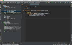 create an android project android developers