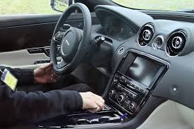 luxury cars inside inside the 2016 jaguar xj incontrol and more tech by car magazine