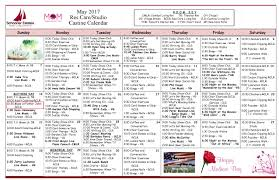 Chair Care Patio May 2017 Activity Calendars